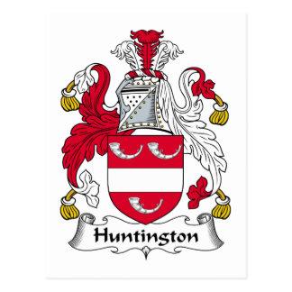 Carte Postale Crête de famille de Huntington