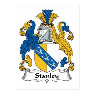 Carte Postale Crête de famille de Stanley