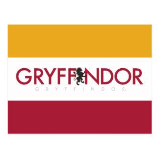 Carte Postale Crête de fierté de Chambre de Harry Potter  