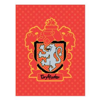 Carte Postale Crête de Gryffindor de bande dessinée
