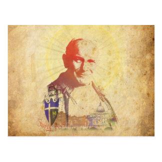 Carte Postale Crête papale de Pape Jean Paul II