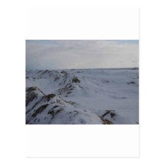 Carte Postale Crêtes gelées