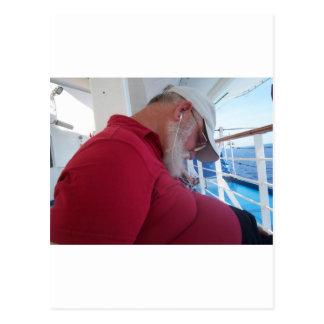 Carte Postale Croiseur de sommeiller