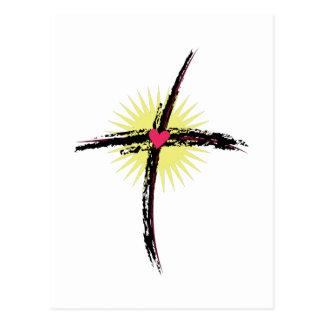Carte Postale Croix religieuse