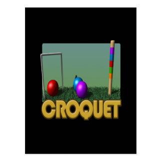 Carte Postale Croquet 5