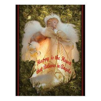 Carte Postale Croyez aux anges