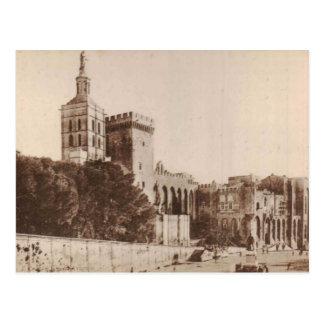 Carte Postale Cru 1920 de reproduction de DES Papes d'Avignon