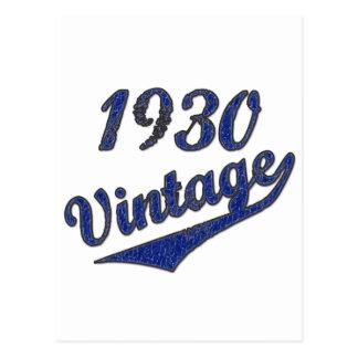 Carte Postale Cru 1930