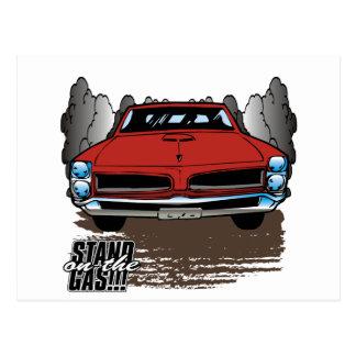 Carte Postale Cru 1966 GTO
