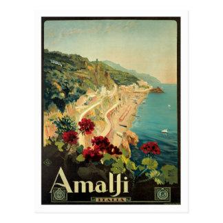 Carte Postale Cru d'Amalfi Italie Italie