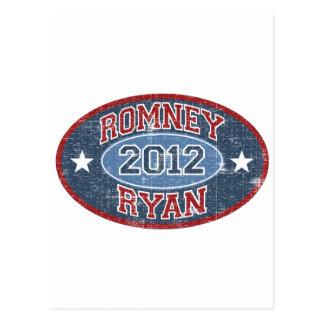 Carte Postale Cru de sport de Romney Ryan 2012