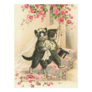 Carte Postale Cru le mariage 1