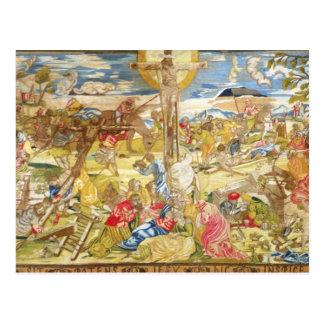 Carte Postale Crucifixion, 1609 (broderie)