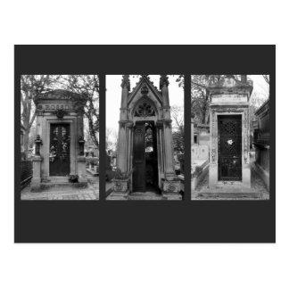 Carte Postale Cryptes de cimetière