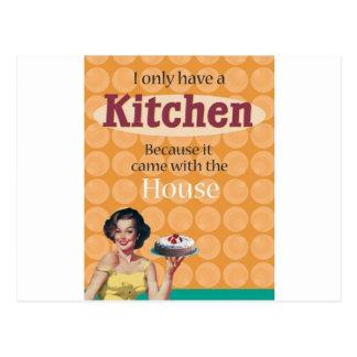 Carte Postale Cuisine