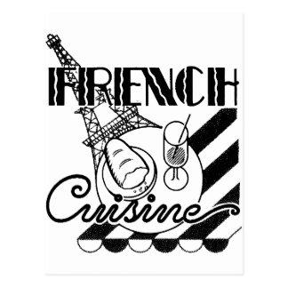 Carte Postale Cuisine française