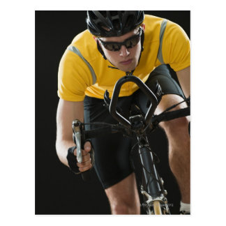 Carte Postale Cycliste