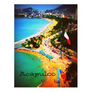 Carte postale d'Acapulco