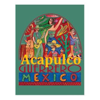 Carte postale d'ACAPULCO Mexique