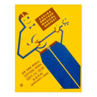 Carte postale d'affiche de WPA