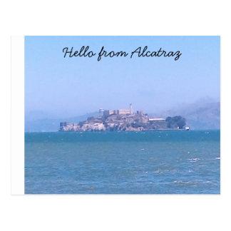 Carte postale d'Alcatraz