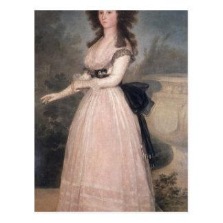 Carte Postale Dame Tadea Arias de Enriquez, 1793-94