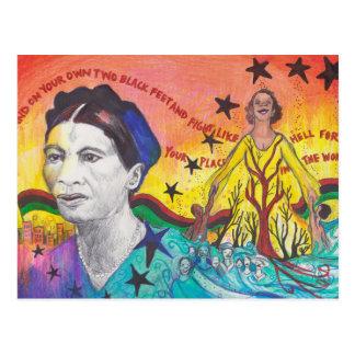Carte postale d'Amy-Jacques Garvey