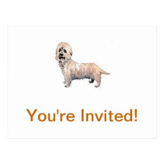 Carte Postale Dandie Dinmont Terrier
