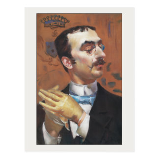Carte Postale Dandy par Giovanni Boldini