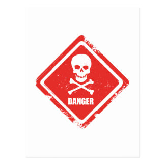 Carte Postale Danger