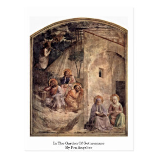 Carte Postale Dans le jardin de Gethsemane par ATF Angelico
