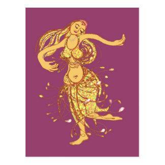 Carte Postale Danse du ventre