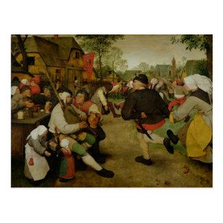 Carte Postale Danse rurale, 1568