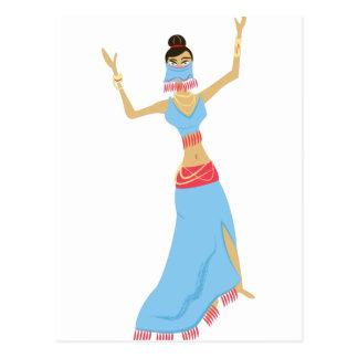 Carte Postale Danseuse du ventre