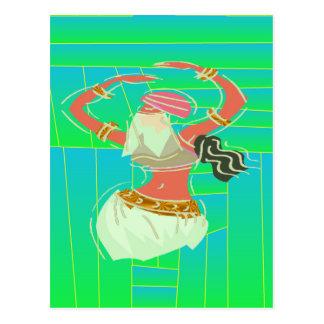 Carte Postale Danseuse du ventre exotique