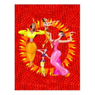 Carte Postale Danseuses du ventre