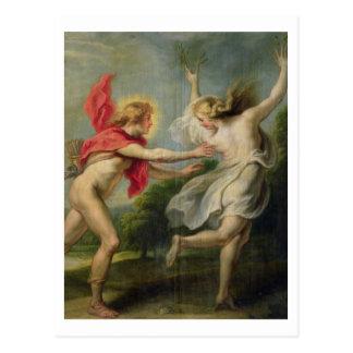 Carte Postale Daphne et Apollo (huile)