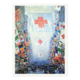 Carte postale d'art avec Frederick C. Hassam