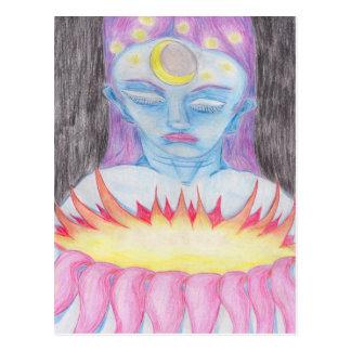 Carte postale d'art d'AUBE
