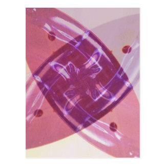 Carte postale d'art numérique de soleil