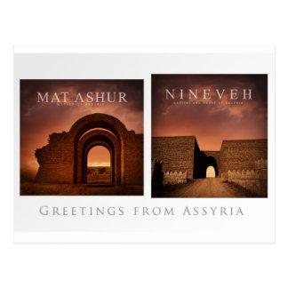 Carte postale d'Assyria