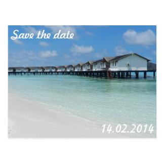 Carte Postale Date save the