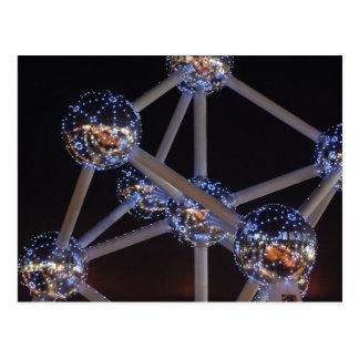 carte postale d'atome