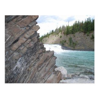 Carte postale d'automnes d'arc de Banff