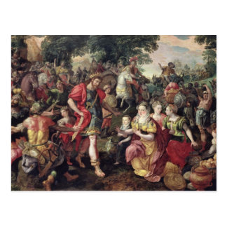 Carte Postale David et Abigaïl ou Alexandre