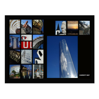 Carte postale de baie de Cardiff