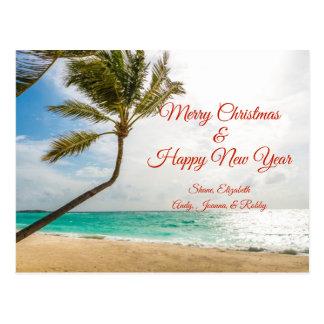 Carte postale de balancement de Joyeux Noël de