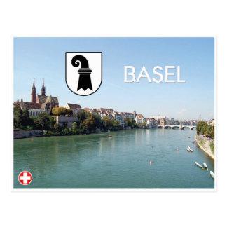 Carte postale de Bâle - de la Suisse