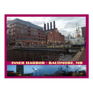 Carte postale de Baltimore