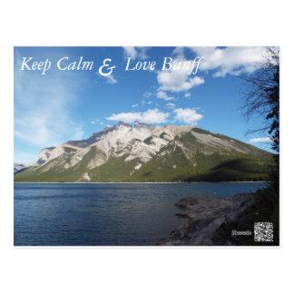 Carte postale de Banff